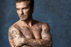 肌肉纹身成男神新标配