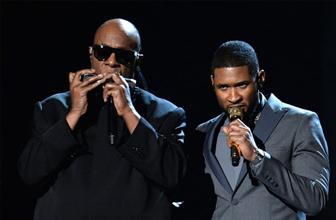 Usher联手史提夫汪达