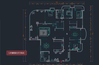 CAD室内设计师之标注