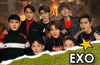 EXO广告尽显各自魅力