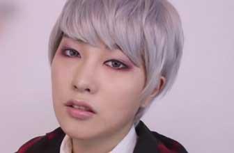 边伯贤血管眼妆图片图片