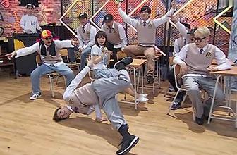 朴宰范和LOCO展开斗舞