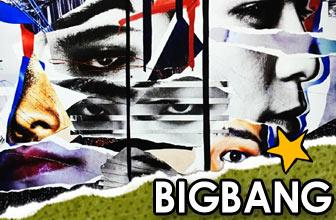 Bigbang解构艺术画报