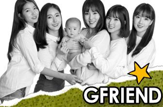 GFRIEND等韩星公益写真