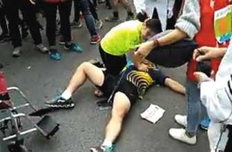 马拉松赛中参赛者猝死